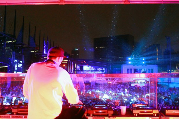 RL Grime. Igloofest 2014. Photo Liliane Hudecova