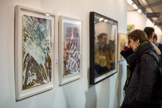 Papier14 Art Fair Exhibition