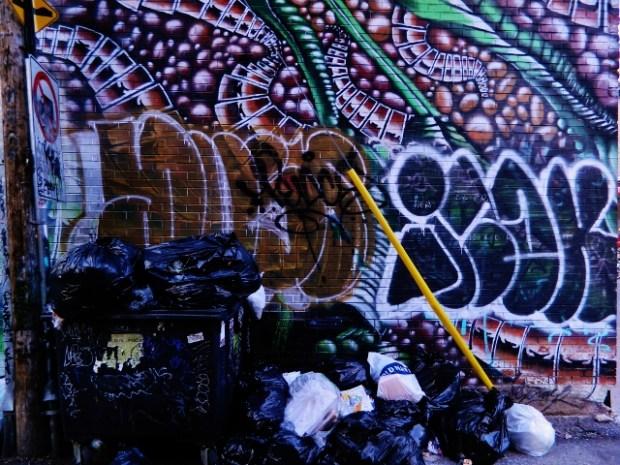 Montreal street art. Photo Nick Janke