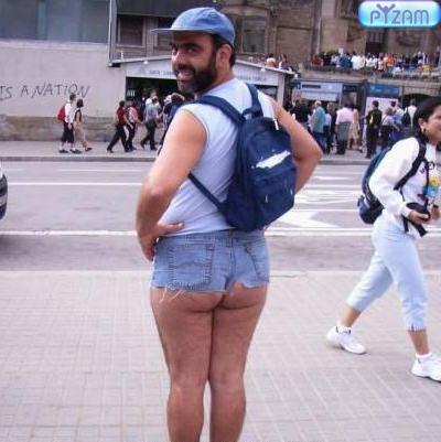 If you dare wear short shorts.
