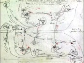 Vladmir Nabakov map of Ulysses