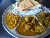 Lunch from Thali Cuisine. Photo by Annie Shreeve