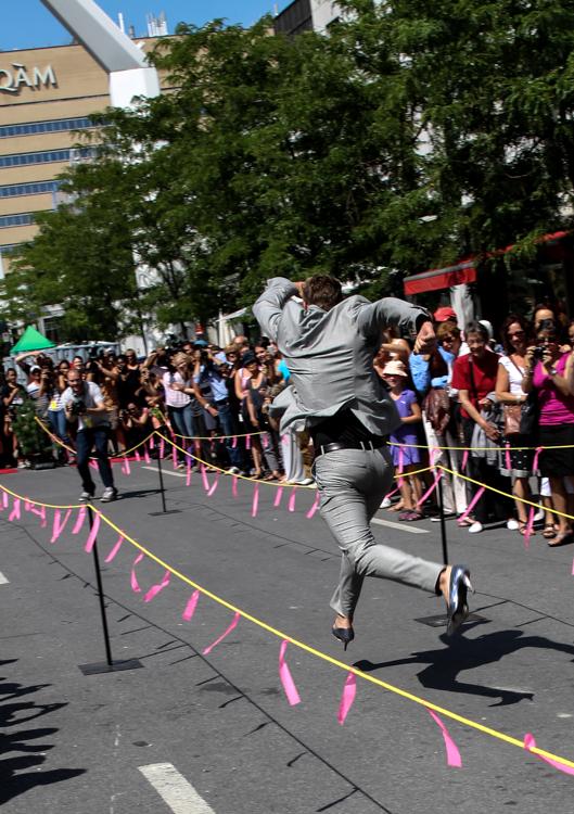 Stiletto Race. Fashion and Design Festival. Montreal. Photo Magali Crevier
