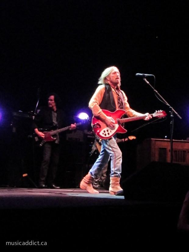 Tom Petty 2014. Photo Jean Frederic Vachon. Bell Centre.
