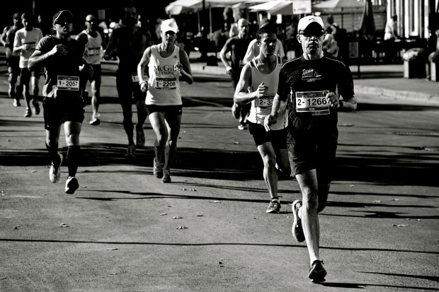 Montreal Oasis Marathon. Photo Michael Bakouch.