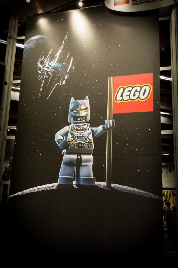 Lego Batman. Photo Jean Frederic Vachon.