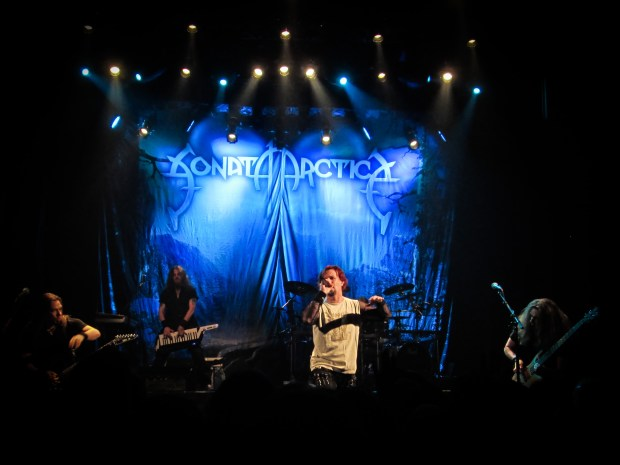 Sonata Arctica. Photo Jean-Frederic Vachon.