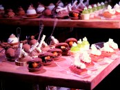 Desserts table at the Chocolate Academy launch party. Photo by Annie Shreeve