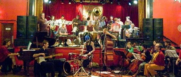 Ratchet Orchestra at Sala Rossa.