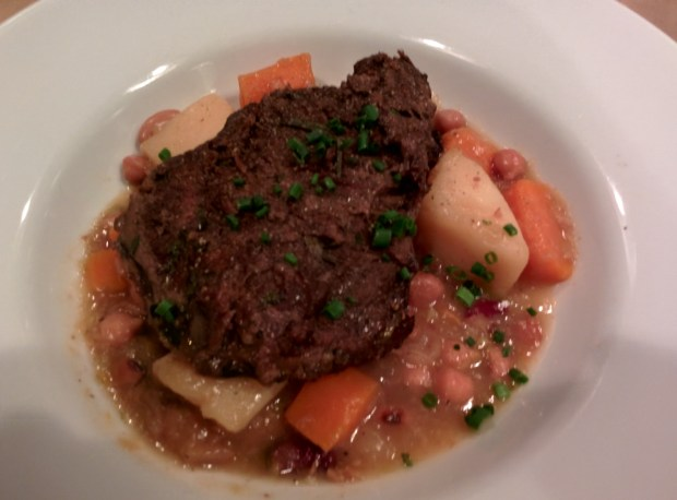 Brasied Beef Cheeks. Montreal Brewing Co. Photo Esther Szeben