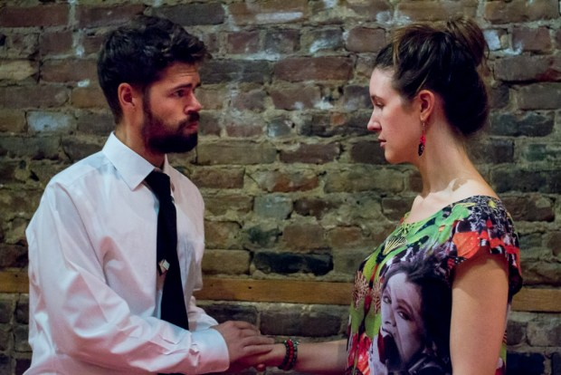 Much Ado About Nothing. Matt Enos and Katherine Turnbull - Benedick and Beatrice