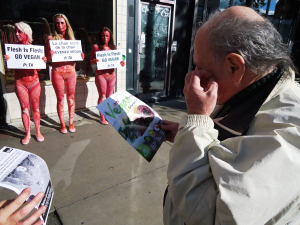 PETA protest from peta website
