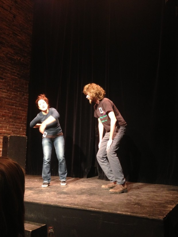 Sunday Night Improv. Photo Nicole Dupont.