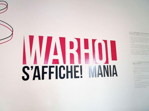 Andy Warhol Mania. Museum of Fine Arts. Montreal. Photo Rachel Levine