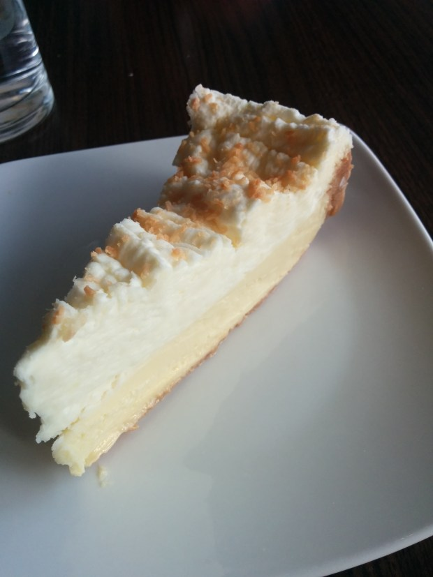 Divine Key Lime Pie. Riccardo's. Photo Esther Szeben.