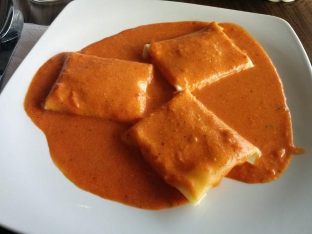 Fazoletti. Riccardo's. Photo Esther Szeben.