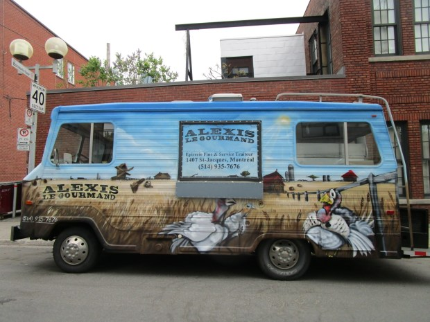 Alexis le Gourmand Food truck. PHoto Rachel Levine