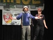 Bar Kapra the Squirrel Hunter. Fringe For All. Photo Rachel Levine