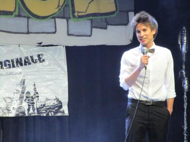 Le gentleman perdu. Jean-François Plante-Tan. Photo Rachel Levine. Montreal Fringe For All.