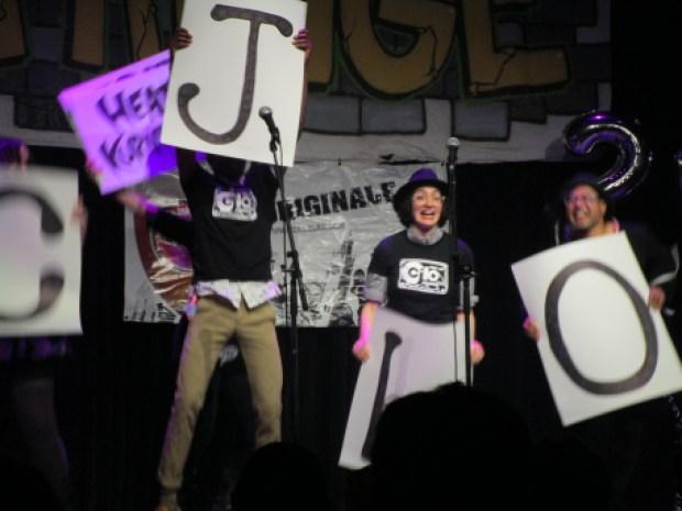 CJLO. Montreal Fringe for All. Photo Rachel Levine