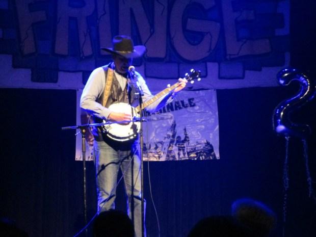 David Pryde. Fringe For All. Photo Rachel Levine