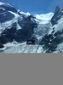 Gondola Up to Matterhorn Glacier Paradise