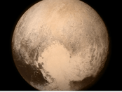 NASA's latest voyage of discovery, a mission to Pluto named New Horizons, helped the world see Pluto up close for the first time in photographs such as these. Photo credit: NASA.