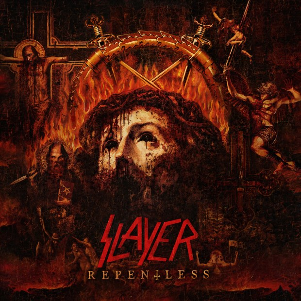 Slayer - Repentless - Cover