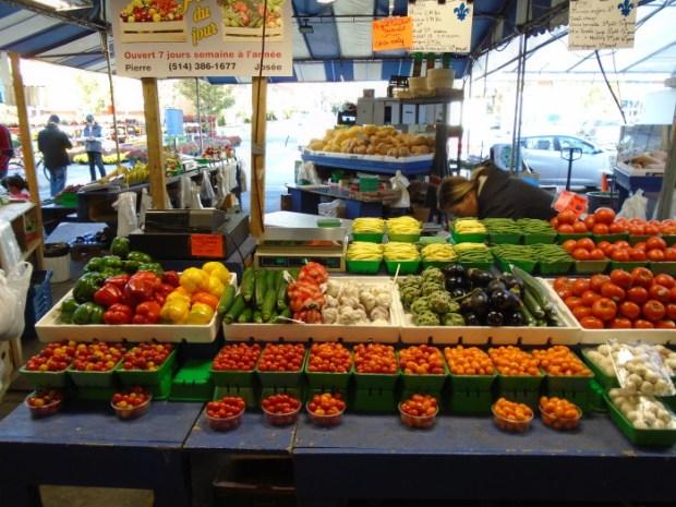 Fresh Vegetables. Atwater Market. Photo Adam Shaw.