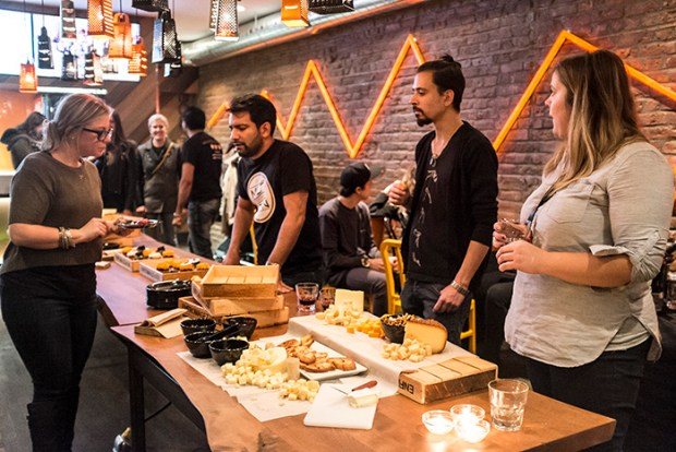 Montreal's Team MLT DWN with owners Aly (centre) and Rahim Moloo(far right). MLT DWN. Mt. Royal. Plateau. Photo Laura Dumitriu
