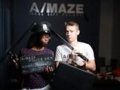 A/Maze. NDG. Nicole Yeba in Prison Game