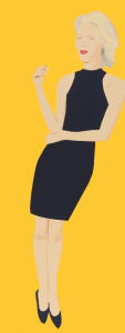"Alex Katz, ""Black Dress VIII (Ruth)"", 2015"