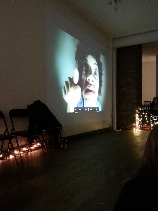 Maxine Segalowitz video. Bouge d'Ici Mash Up. Photo Rachel LEvine