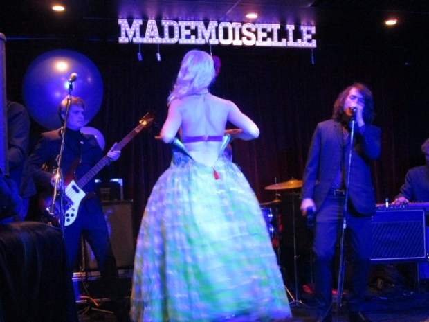 Lady Josephine and The Continentals. Mademoiselle Opening. Mile End. Photo Rachel Levine