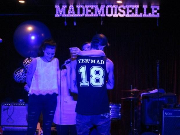 Mademoiselle Opening. Mile End. Photo Rachel Levine