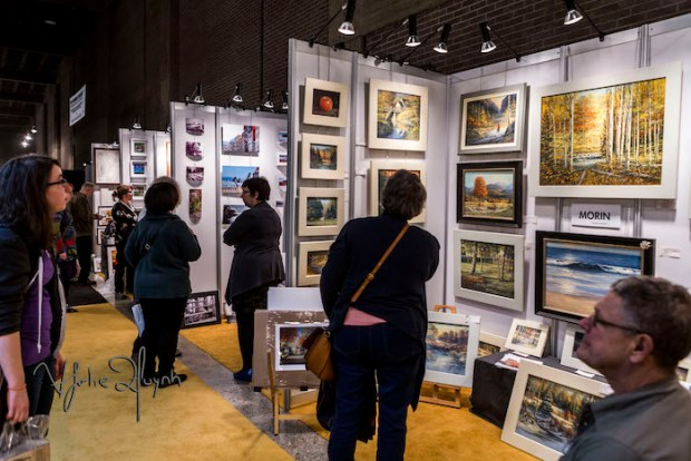 Visual Arts Alley. Salon de Metiers d'art de Montreal. Photo Lily Huynh