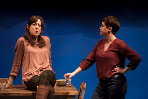 Leni Parker and Stefanie Buxton. On this Day. Feb 2016. Photo AndréeLanthier