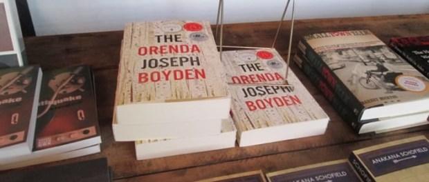 Joseph Boyden. The Orenda. Books at Blue Metropolis. Photo Rachel Levine