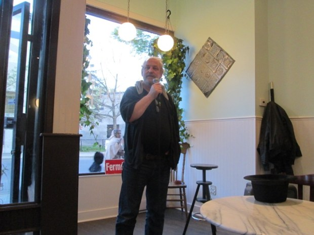 The Comedy Lottery. Cafe La Luncheonette. Photo Rachel Levine