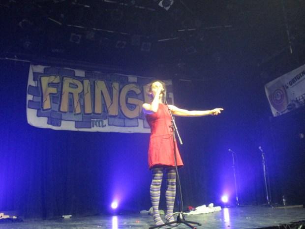 Nisha Coleman.Fringe For All 2016. Photo Rachel Levine