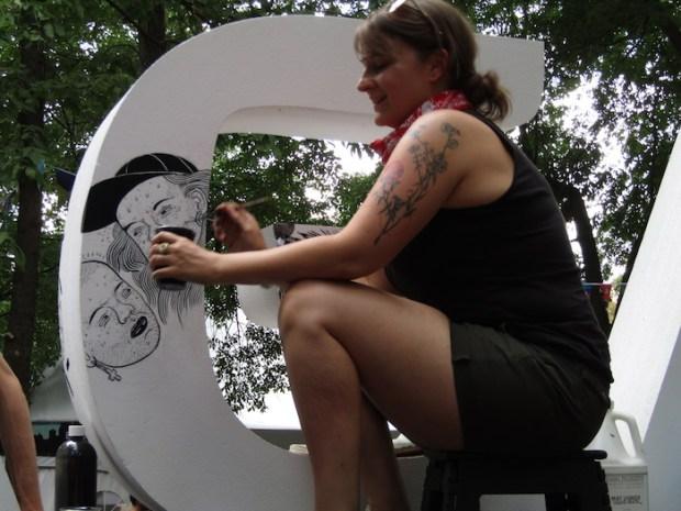 Osheaga Art. Photo Rachel Levine