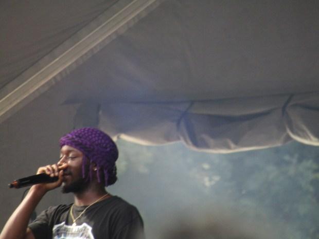 Goldlink. Scene Verte. Osheaga Photo Rachel Levine