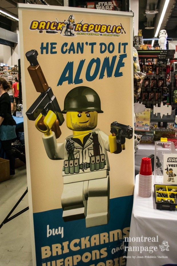 Brick Republic Lego. Montreal Comiccon. July 08, 2016. Photo Jean Frederic Vachon.