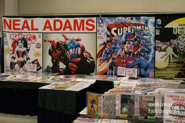 Neal Adams. Montreal Comiccon. July 08, 2016. Photo Jean Frederic Vachon.