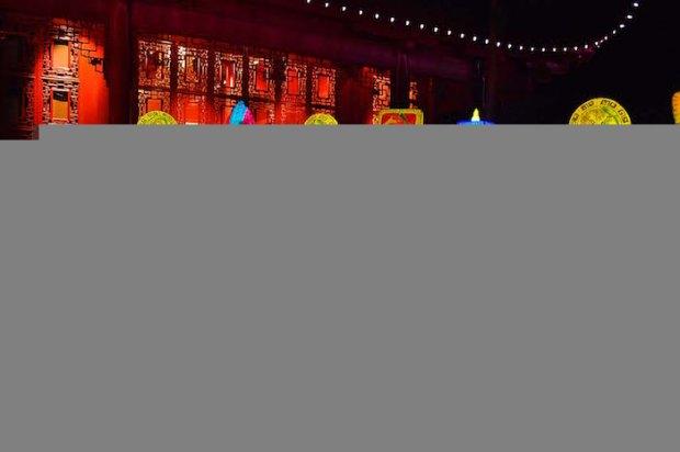 Jardins de lumière 2016 / Gardens of light 2016. Jardin Botanique. Photo Sebastian Mora.