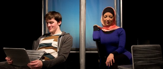 Geordie Productions. Ian Geldart and Mariana Tayler. Jabber.