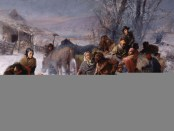 """The Underground Railroad"", painting by Charles T. Webber. Source: Wikimedia Commons."