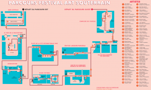 Carte - Art Souterrain 2017