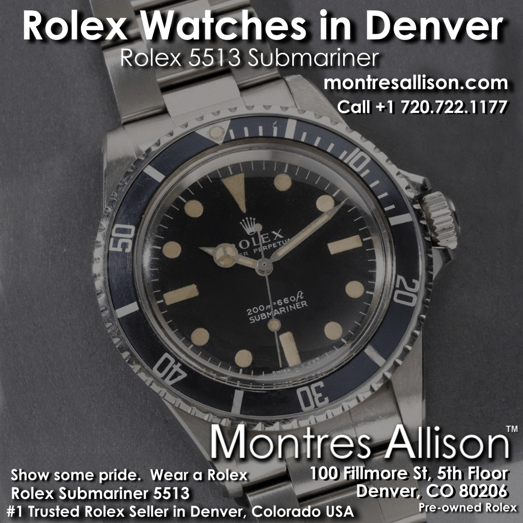 Montres Allison Rolex Denver