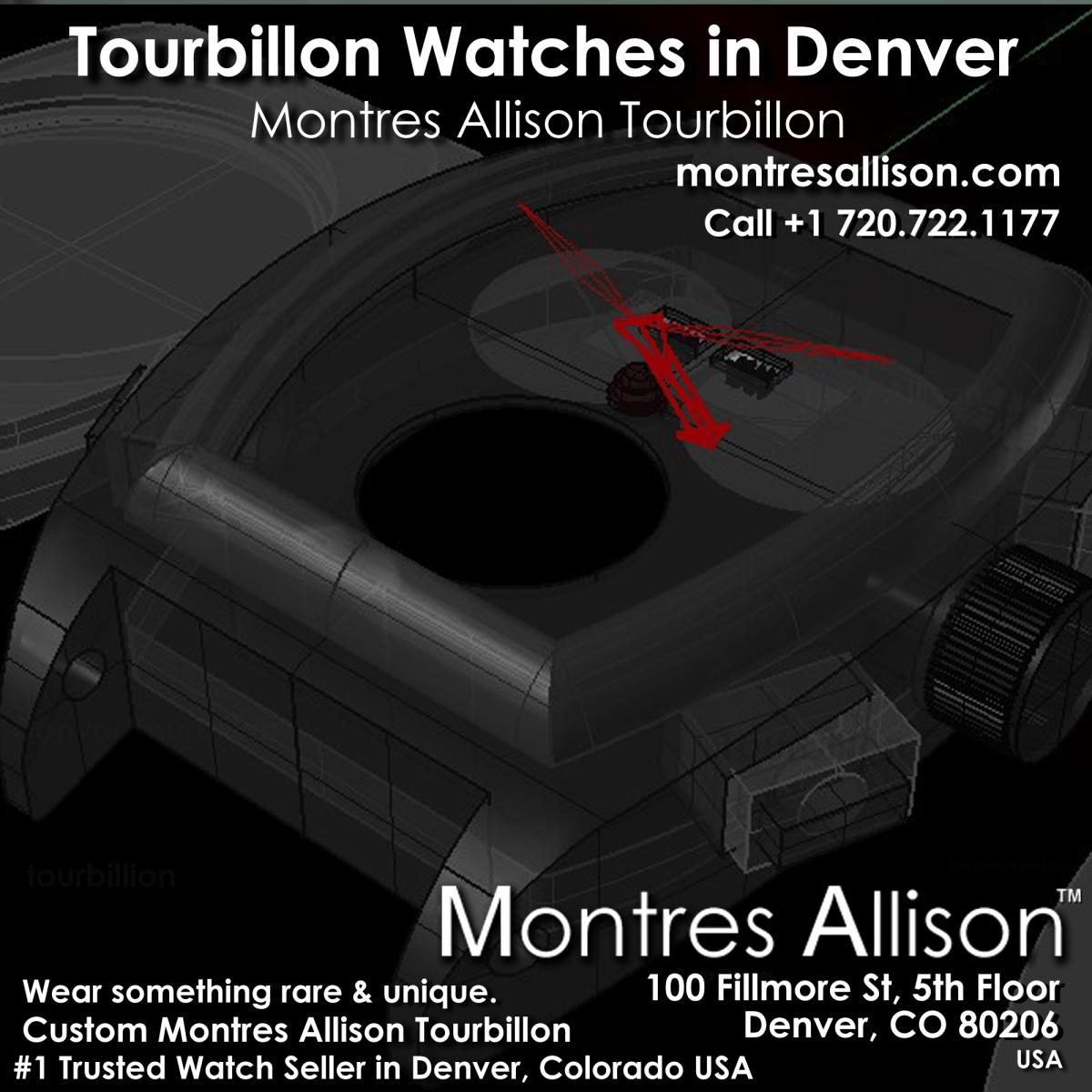 Montres Allison tourbillon watches